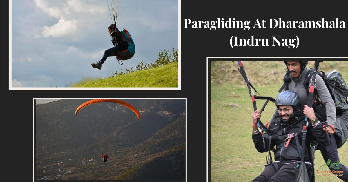 Paragliding at Dharamshala (Indru Nag)