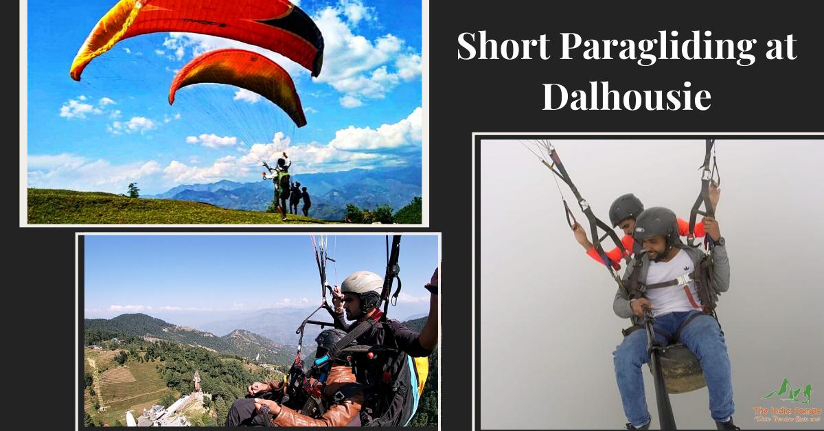 Short Paragliding at Dalhousie (Khajjiar)