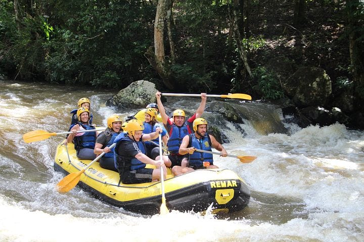 Long stretch River Rafting in Manali