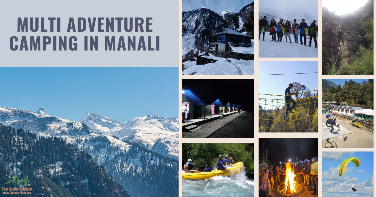Multi Adventure Camping in Manali