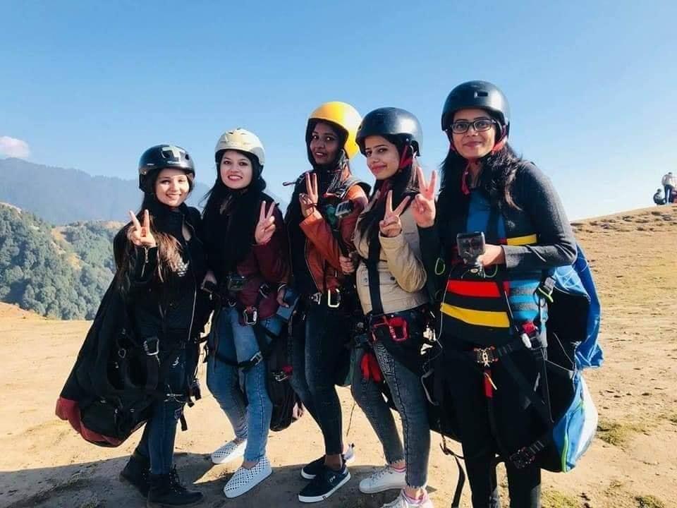 paragliding in Dharamshala