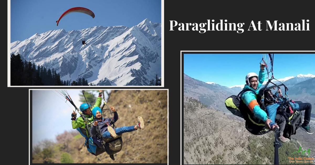 Paragliding at Manali