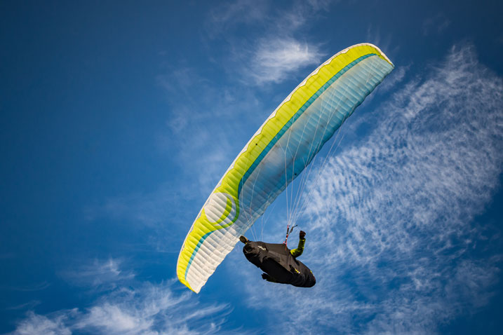 high paragliding in manali
