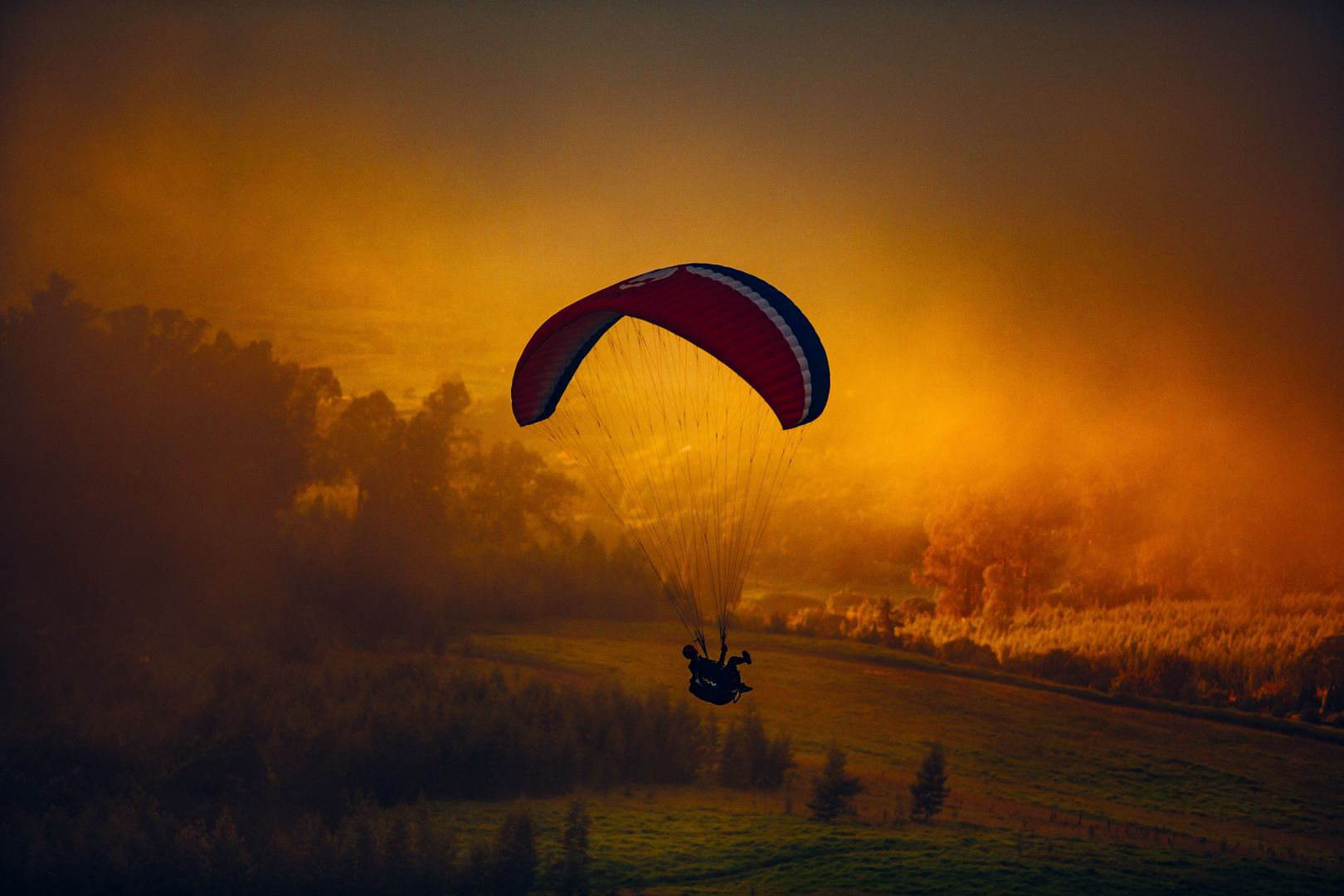 adventure paragliding in manali